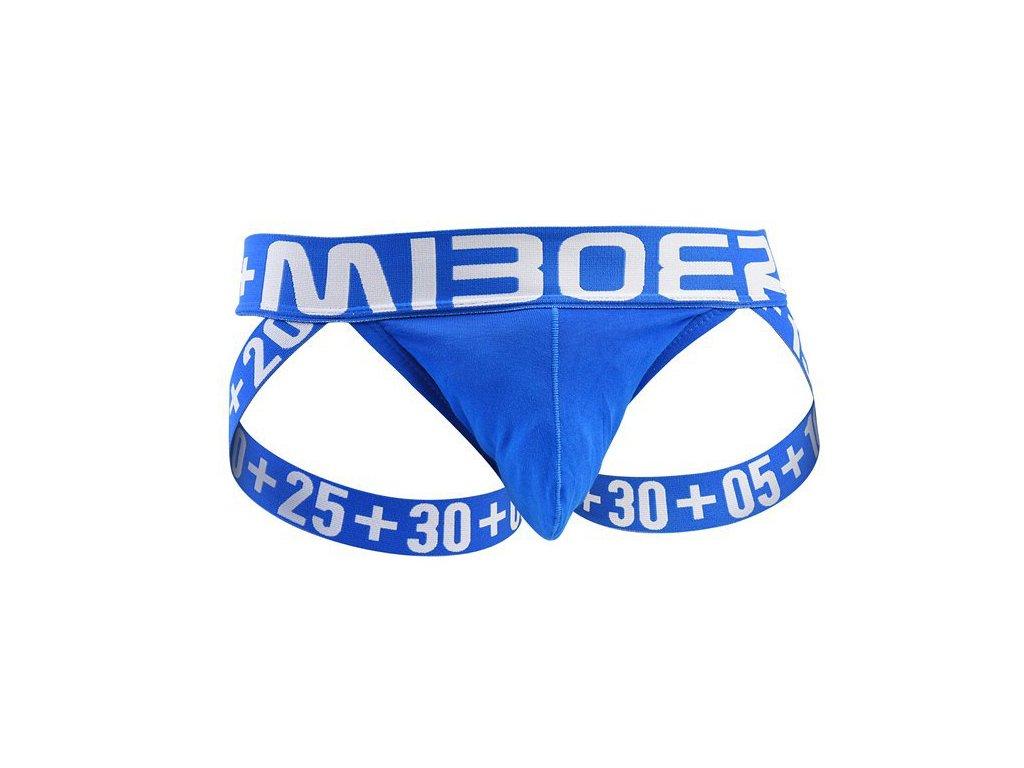 sexy jockstrap miboer s pohodlnou kapsou modra
