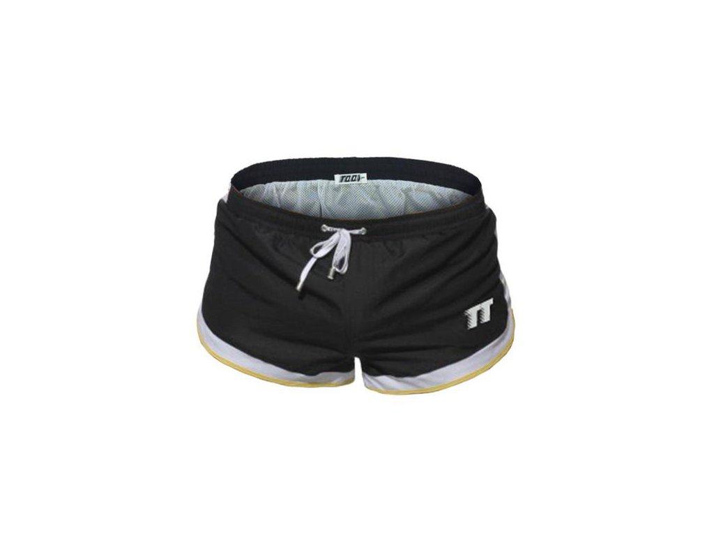 Pánské boxerkové plavky 2017 TQQT Tyre Black 4