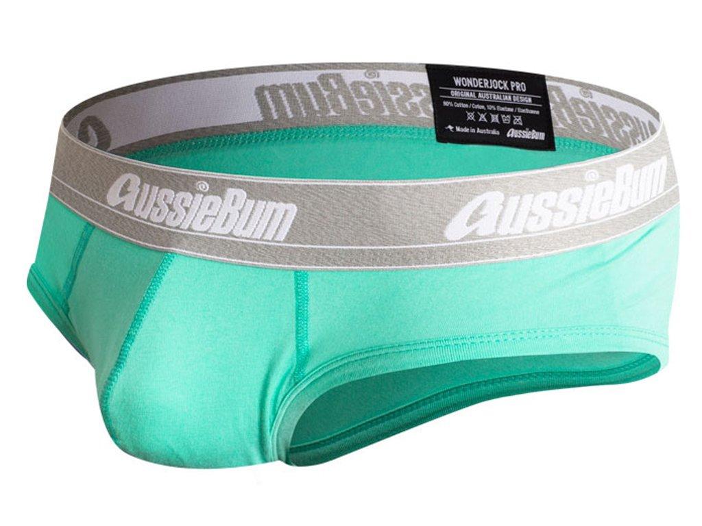 push up slipy aussiebum s kapsou wonder jock pro zelene2