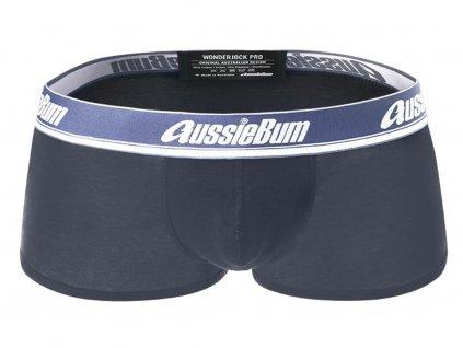 Boxerky AussieBum Wonder Jock Pro s Push up kapsou WJ Charcoal1