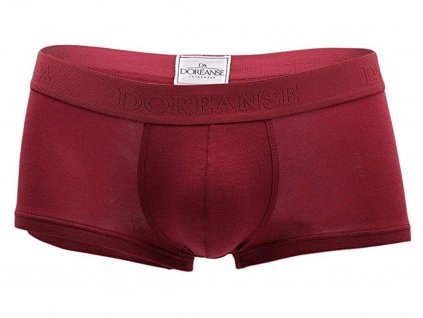 boxerky doreanse low rice essentials 1760 claret red3