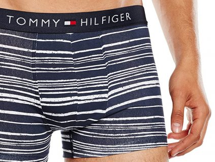 Boxerky Tommy Hilfiger Flag Trunk Paint Striped1