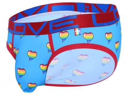 Love Pride Heart Slipy ANDREW CHRISTIAN Almost Naked Love Pride Print1