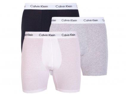 0calvin klein boxerky boxer brief 3 baleni nb1770a mp1
