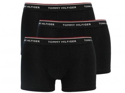 Boxerky Tommy Hilfiger 1U87905252 990 3 balení Černá2