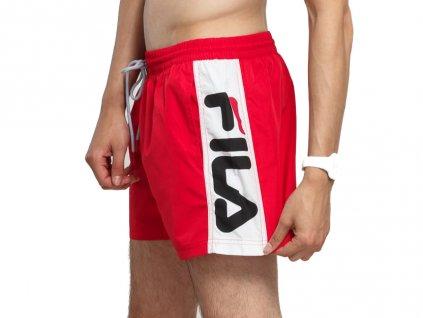 Pánské šortkové plavky FILA Racing Red