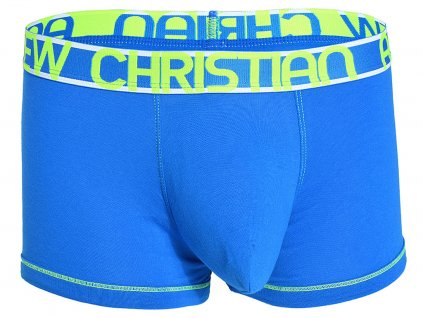 almost naked cotton boxerky andrew christian electric blue5