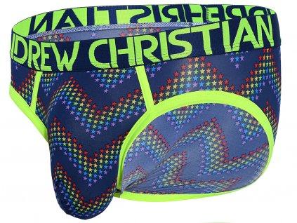 slipy andrew christian pride electro star3