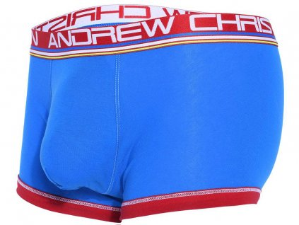 Almost Naked Cotton Boxerky ANDREW CHRISTIAN Electric Blue II2