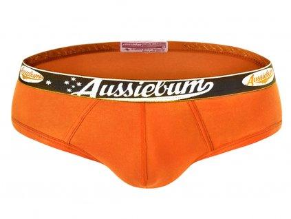 Slipy AussieBum ComfyFit Brief Orange1
