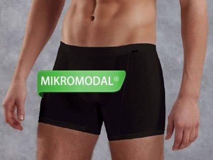 Boxerky s MikroModalem™ DOREANSE Premium 1510 Černá
