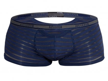 elegantni polopruhledne boxerky aussiebum jack navy2