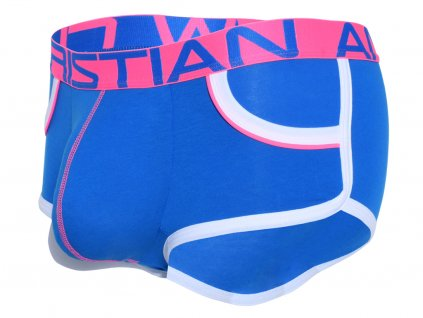 retro pop pocket boxerky andrew christian s pushup kapsou show it 91845 electric blue21