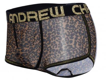 Almost Naked Boxerky ANDREW CHRISTIAN 91812 Leopard Sheer20