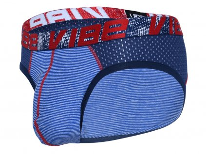 vibe stripe sports mesh slipy andrew christian 91849 navy white23
