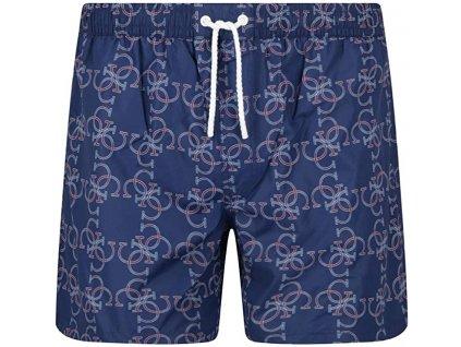 3panske sortkove plavky guess blue chain