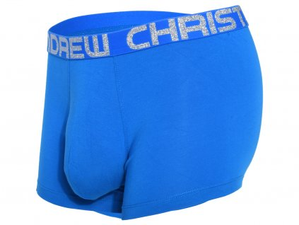 Almost Naked Bamboo Boxerky ANDREW CHRISTIAN 91895 Electric Blue1