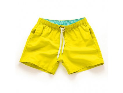 Víceúčelové pánské šortkové plavky v 17 barvách! - Akce 3+1 zdarma! - Yellow/Žlutá