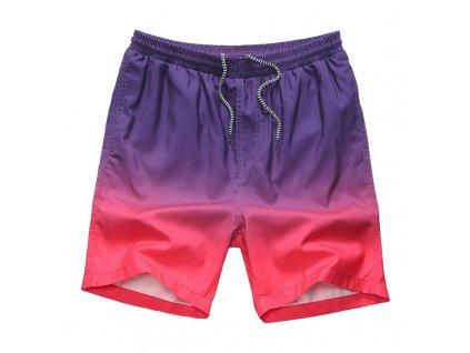 vyrazne-dvoubarevne-sortkove-plavky-gradient-nachova