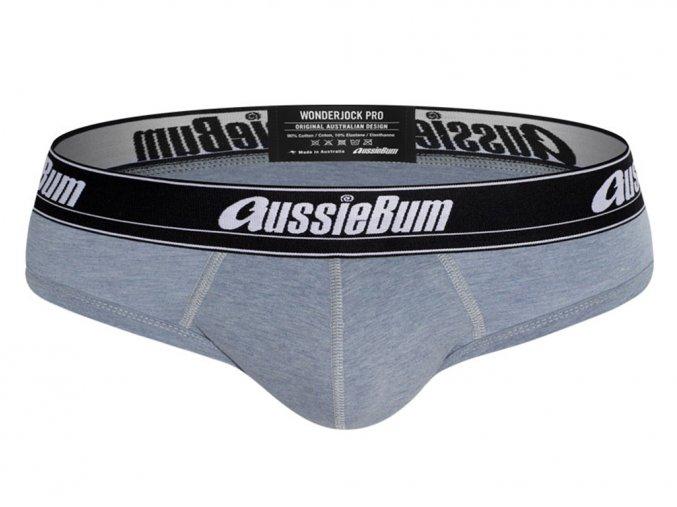 Slipy AussieBum Wonder Jock Pro s Push up kapsou WJ Blue Marle1