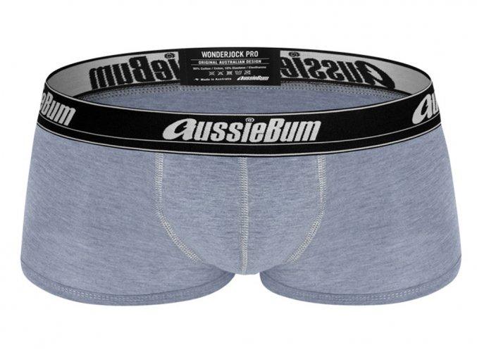 Boxerky AussieBum Wonder Jock Pro s Push up kapsou WJ Blue Marle1