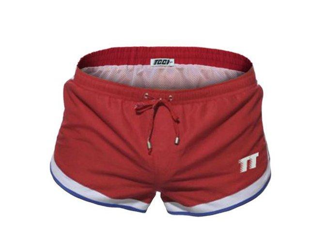 Pánské boxerkové plavky 2017 TQQT 1 Racing red