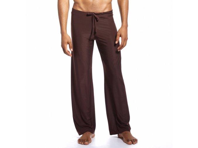 extra pohodlne domaci kalhoty dream lounge joga pants cerna mokka 4
