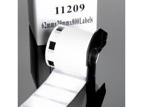 dk11209 nejlevnejsi kompatibilni papirove samolepici stitky pro brother dk 11209 62mm x 29mm 2