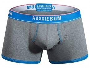 Pánské Push Up prádlo AussieBum Boxerky EnlargeIT Bold Gray1