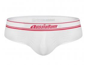 Bezešvé slipy AussieBum Brief Seamless.Tech 2.4 White1