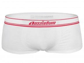 Bezešvé boxerky AussieBum Hipster Seamless.Tech 2.4 White1
