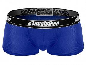 Pánské Push up boxerky AussieBum s kapsou Wonder Jock WJ Air Hipster Royal1