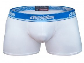 Push up boxerky AussieBum Bare s kapsou Wonder Jock WJ Hipster White1
