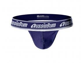 Samodržící bezešvé prádlo AussieBum SPORTSCUP Navy1