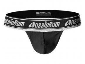 Samodržící bezešvé prádlo AussieBum SPORTSCUP Black1