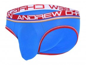 Almost Naked Cotton Slipy ANDREW CHRISTIAN Electric Blue1