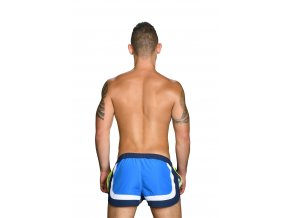 Andrew Christian šortkové plavky CHAMPION Swim Shorts Blue