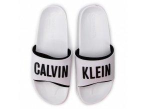 Calvin Klein Slide KM0KM00376 Bílá3