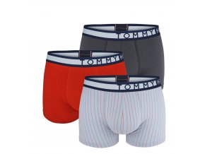 Boxerky Tommy Hilfiger trunk stripe 3 balení1