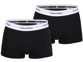 Boxerky Calvin Klein 2 balení 1086A 001 Černá10