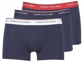 Boxerky Tommy Hilfiger 1U87903842 904 Modrá 3 balení1