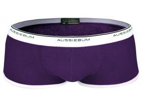 AussieBum Hipster boxerky kolekce HITCH Fialová (Velikost S, Barva Fialová, Velikost dle značky (75-80cm))