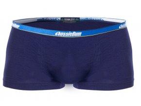 AussieBum Seamless Bezešvé boxerky - Navy Modrá (Velikost L, Barva Navy Modrá)
