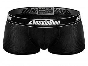 ↑↑↑ Push-up Boxerky AussieBum s kapsou Wonder Jock AIR Černá (Barva Černá, Velikost XL, Velikost dle značky Pro obvod pasu  (90-95cm))
