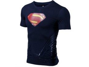 kompresni triko z bavlny s 3d potiskem superman 2018 6