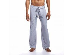 extra pohodlne domaci kalhoty dream lounge joga pants seda