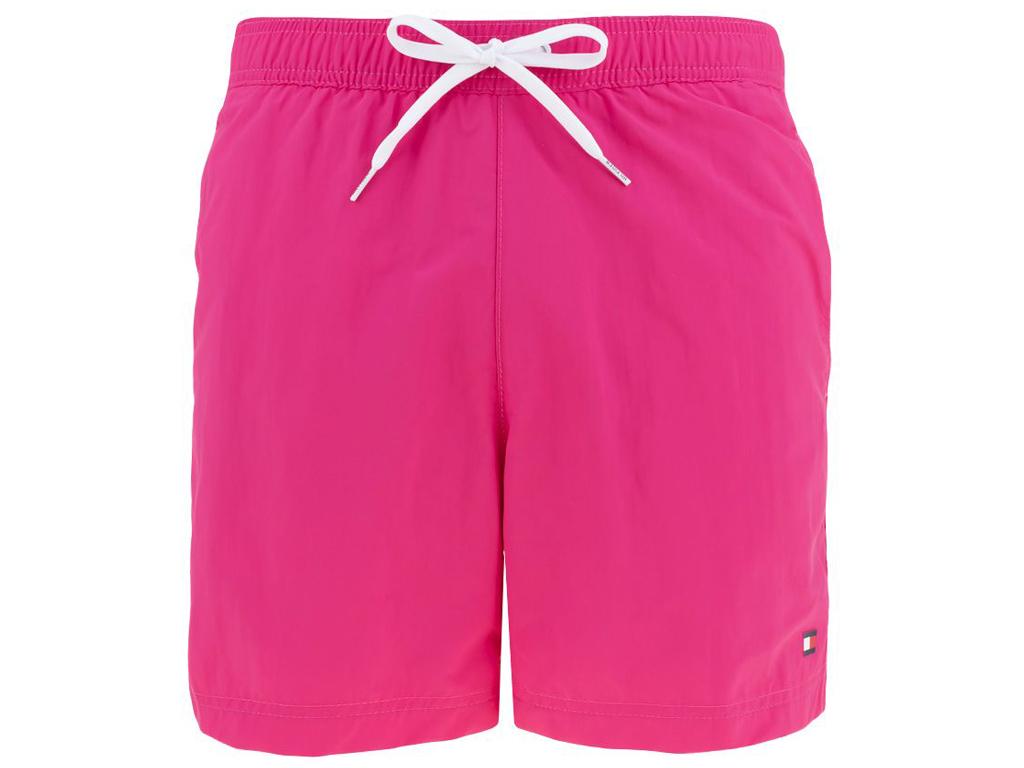 Šortkové plavky Tommy Hilfiger CONTRAST DRAWSTRING UM0UM01080-T1Il Barva: Růžová, Velikost: M, Pro obvod pasu: Pro obvod pasu (81-86cm)