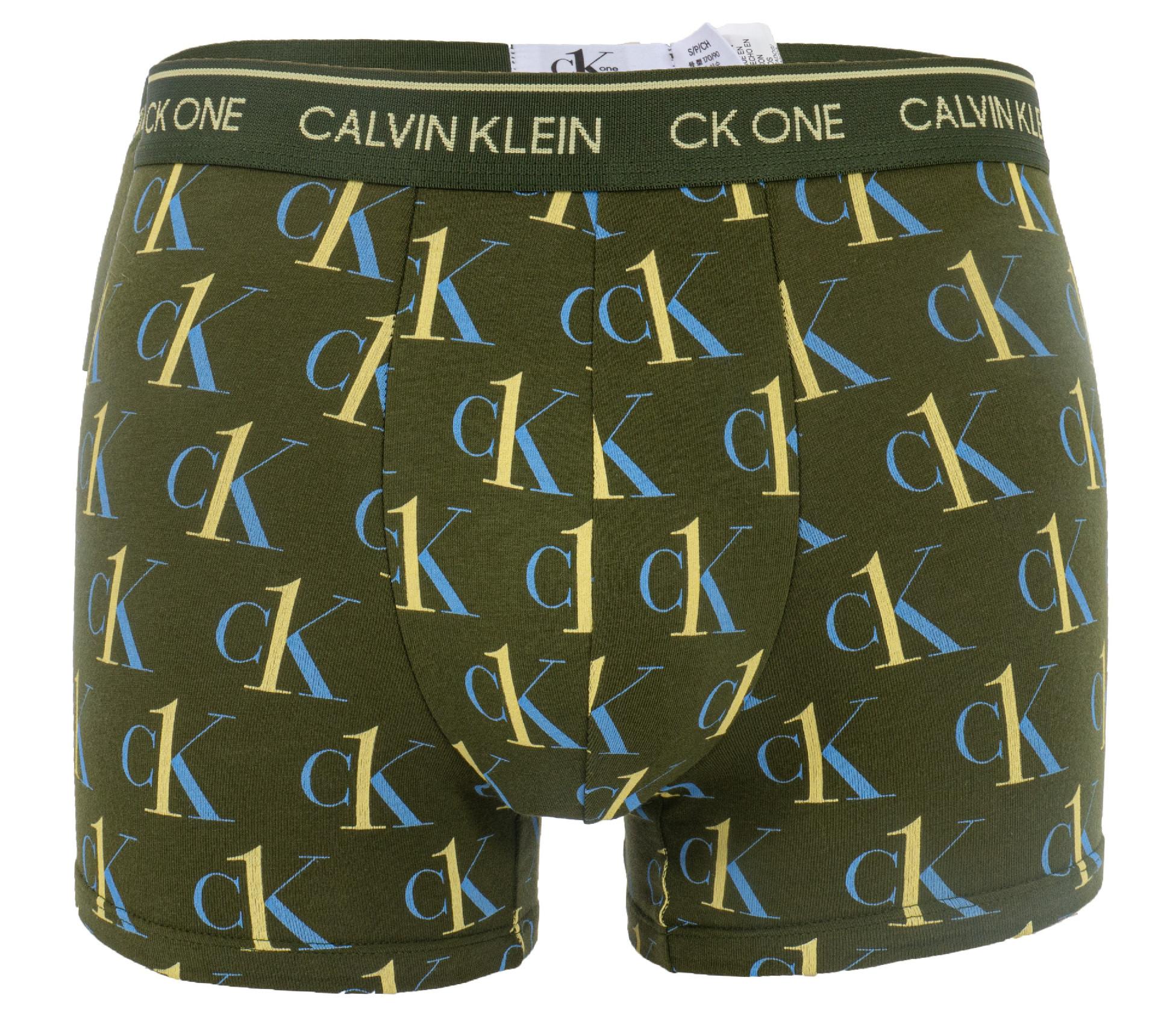 Boxerky Calvin Klein NB2216A-91P Barva: Zelená, Velikost: S