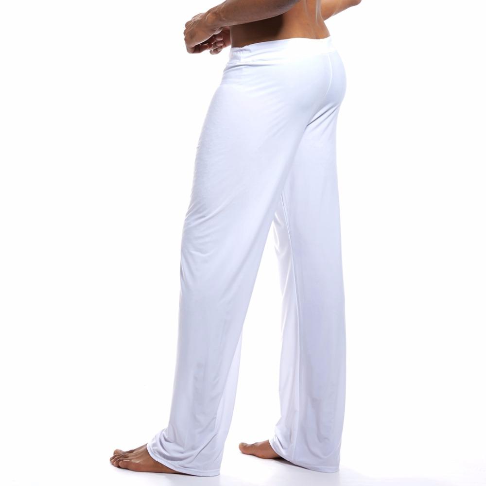 Extra pohodlné domácí kalhoty - Dream Lounge Joga Pants Barva: Bílá, Velikost: M, Velikost dle značky: Pro obvod pasu (76-81cm)