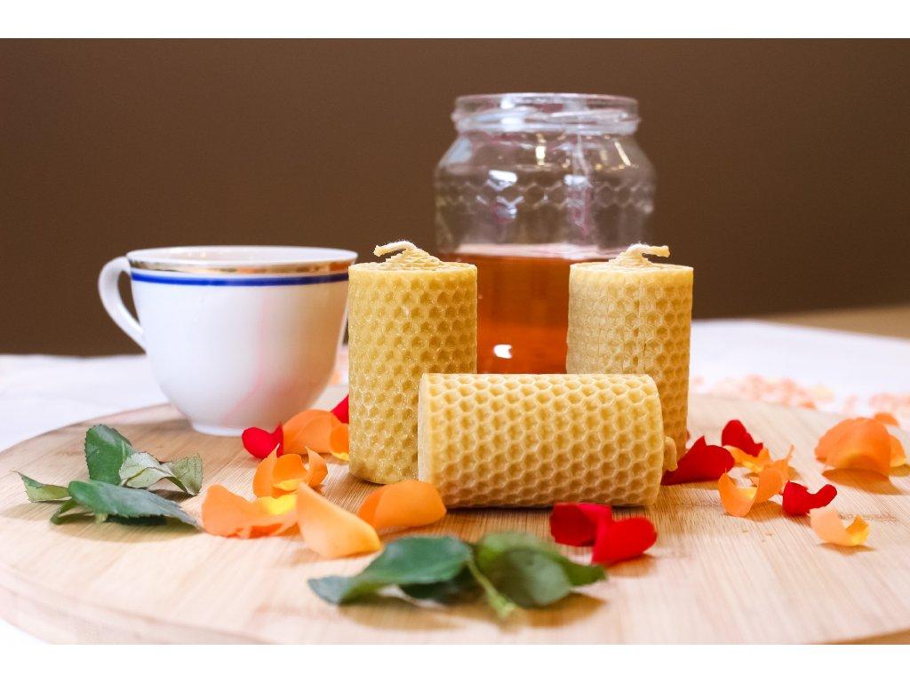 Medová svíčka - motaná